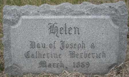 BERBERICH, HELEN - Montgomery County, Ohio | HELEN BERBERICH - Ohio Gravestone Photos