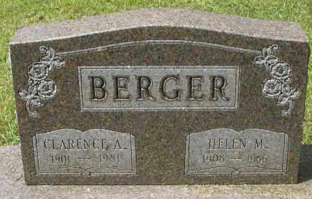 BERGER, HELEN M. - Montgomery County, Ohio | HELEN M. BERGER - Ohio Gravestone Photos