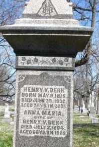BERK, HENRY V. - Montgomery County, Ohio | HENRY V. BERK - Ohio Gravestone Photos