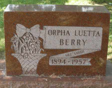 BERRY, ORPHA LUETTA - Montgomery County, Ohio | ORPHA LUETTA BERRY - Ohio Gravestone Photos