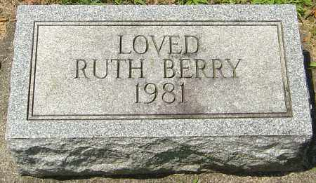 BERRY, RUTH - Montgomery County, Ohio | RUTH BERRY - Ohio Gravestone Photos