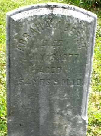 BERST, ABRAHAM - Montgomery County, Ohio | ABRAHAM BERST - Ohio Gravestone Photos