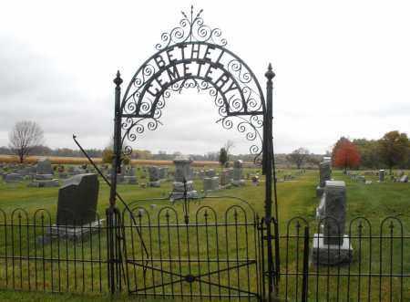 BETHEL, CEMETERY - Montgomery County, Ohio | CEMETERY BETHEL - Ohio Gravestone Photos