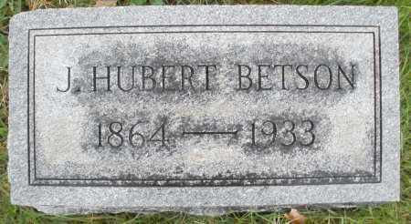 BETSON, J. HUBERT - Montgomery County, Ohio | J. HUBERT BETSON - Ohio Gravestone Photos