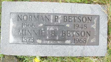 BETSON, MINNIE B. - Montgomery County, Ohio | MINNIE B. BETSON - Ohio Gravestone Photos