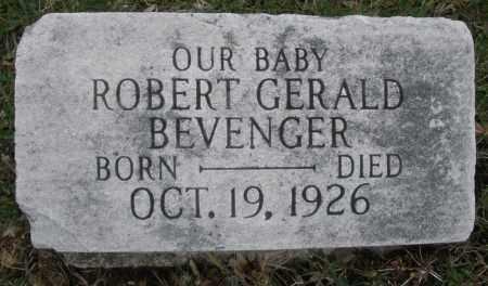 BEVENGER, ROBERT GERALD - Montgomery County, Ohio | ROBERT GERALD BEVENGER - Ohio Gravestone Photos