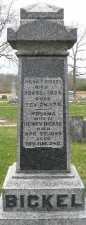 BICKEL, HENRY - Montgomery County, Ohio | HENRY BICKEL - Ohio Gravestone Photos