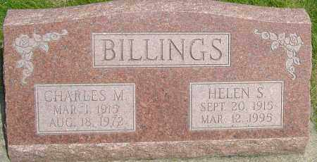 BILLINGS, CHARLES M - Montgomery County, Ohio | CHARLES M BILLINGS - Ohio Gravestone Photos