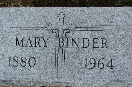 BINDER, MARY - Montgomery County, Ohio | MARY BINDER - Ohio Gravestone Photos