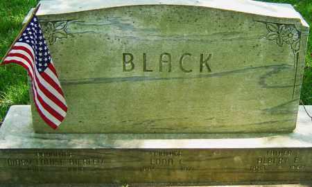 BLACK, ALBERT E - Montgomery County, Ohio | ALBERT E BLACK - Ohio Gravestone Photos