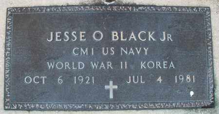 BLACK, JESSE O. JR. - Montgomery County, Ohio | JESSE O. JR. BLACK - Ohio Gravestone Photos