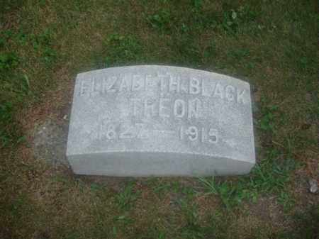 WEAVER BLACK/TREON, ELIZABETH - Montgomery County, Ohio | ELIZABETH WEAVER BLACK/TREON - Ohio Gravestone Photos