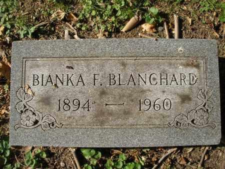 BLANCHARD, BIANKA F. - Montgomery County, Ohio | BIANKA F. BLANCHARD - Ohio Gravestone Photos