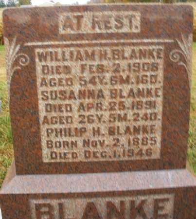 BLANKE, WILLIAM H. - Montgomery County, Ohio | WILLIAM H. BLANKE - Ohio Gravestone Photos
