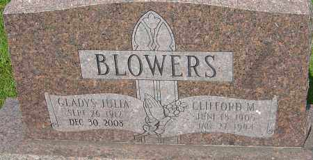 BLOWERS, GLADYS JULIA - Montgomery County, Ohio | GLADYS JULIA BLOWERS - Ohio Gravestone Photos