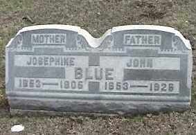 BLUE, JOHN - Montgomery County, Ohio | JOHN BLUE - Ohio Gravestone Photos