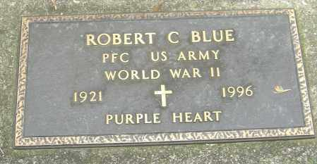 BLUE, ROBERT C - Montgomery County, Ohio | ROBERT C BLUE - Ohio Gravestone Photos