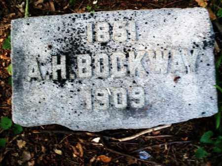 BOCKWAY, A. H. - Montgomery County, Ohio | A. H. BOCKWAY - Ohio Gravestone Photos