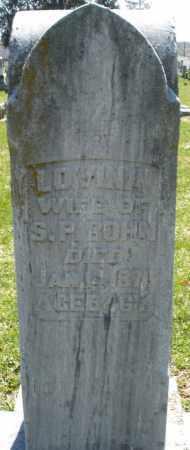 BOHN, LOVINA - Montgomery County, Ohio | LOVINA BOHN - Ohio Gravestone Photos