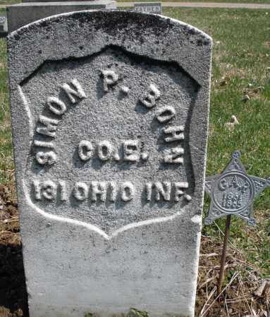 BOHN, SIMON P. - Montgomery County, Ohio | SIMON P. BOHN - Ohio Gravestone Photos