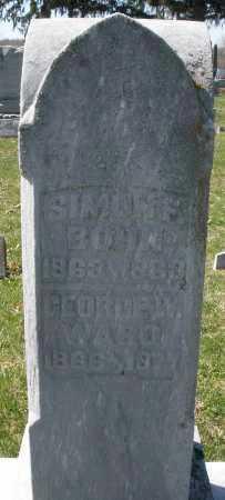 BOHN, SIMON F. - Montgomery County, Ohio | SIMON F. BOHN - Ohio Gravestone Photos