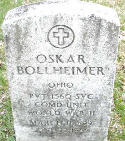 BOLLHEIMER, OSKAR - Montgomery County, Ohio | OSKAR BOLLHEIMER - Ohio Gravestone Photos