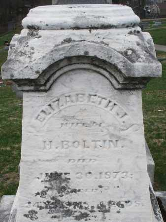 BOLTIN, ELIZABETH J. - Montgomery County, Ohio | ELIZABETH J. BOLTIN - Ohio Gravestone Photos