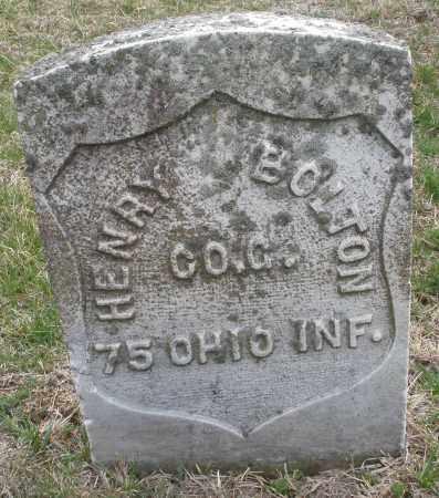 BOLTIN, HENRY - Montgomery County, Ohio | HENRY BOLTIN - Ohio Gravestone Photos