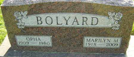 BOLYARD, MARILYN M - Montgomery County, Ohio | MARILYN M BOLYARD - Ohio Gravestone Photos