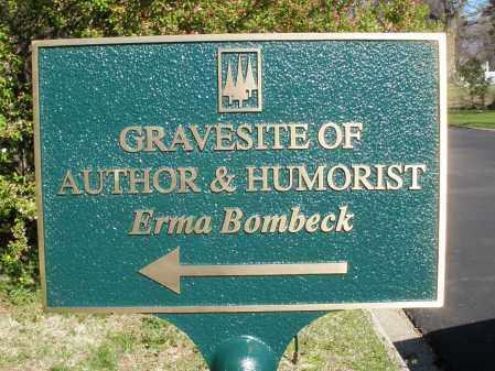 BOMBECK, ERMA - Montgomery County, Ohio | ERMA BOMBECK - Ohio Gravestone Photos