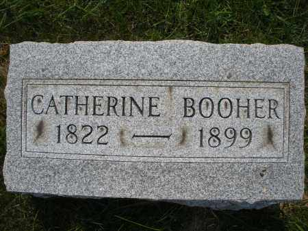 BOOHER, CATHERINE - Montgomery County, Ohio | CATHERINE BOOHER - Ohio Gravestone Photos