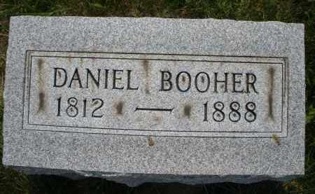 BOOHER, DANIEL - Montgomery County, Ohio | DANIEL BOOHER - Ohio Gravestone Photos