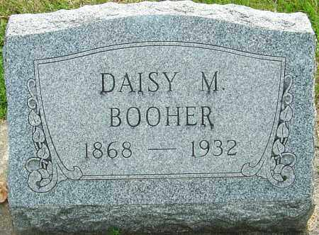 MOWEN BOOHER, DAISY MAY - Montgomery County, Ohio | DAISY MAY MOWEN BOOHER - Ohio Gravestone Photos