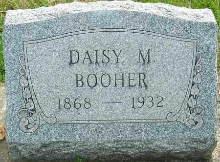 BOOHER, DAISY MAY - Montgomery County, Ohio | DAISY MAY BOOHER - Ohio Gravestone Photos