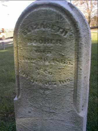 CRULL BOOHER, ELIZABETH - Montgomery County, Ohio | ELIZABETH CRULL BOOHER - Ohio Gravestone Photos