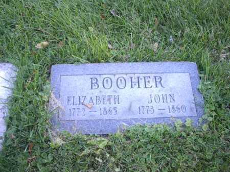 BOOHER, JOHN - Montgomery County, Ohio | JOHN BOOHER - Ohio Gravestone Photos