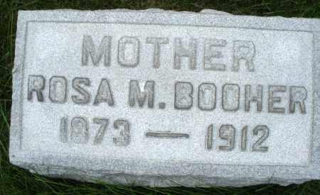 BOOHER, ROSA M. - Montgomery County, Ohio | ROSA M. BOOHER - Ohio Gravestone Photos