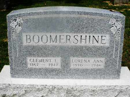 BOOMERSHINE, CLEMENT - Montgomery County, Ohio | CLEMENT BOOMERSHINE - Ohio Gravestone Photos