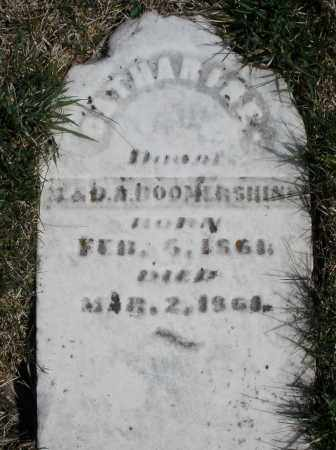 BOOMERSHINE, CATHARINE - Montgomery County, Ohio | CATHARINE BOOMERSHINE - Ohio Gravestone Photos
