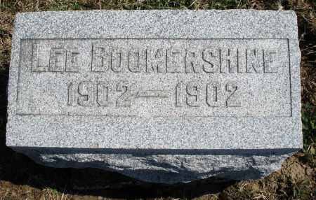 BOOMERSHINE, LEE - Montgomery County, Ohio | LEE BOOMERSHINE - Ohio Gravestone Photos