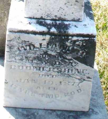 BOOMERSHINE, WILLIAM - Montgomery County, Ohio | WILLIAM BOOMERSHINE - Ohio Gravestone Photos