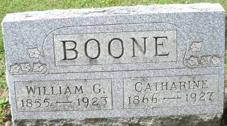 BOONE, WILLIAM G. - Montgomery County, Ohio | WILLIAM G. BOONE - Ohio Gravestone Photos