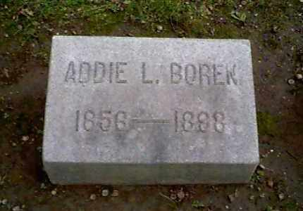 BOREN, ADDIE L. - Montgomery County, Ohio | ADDIE L. BOREN - Ohio Gravestone Photos