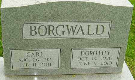 BORGWALD, CARL - Montgomery County, Ohio | CARL BORGWALD - Ohio Gravestone Photos