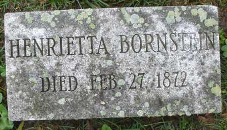 BORNSTEIN, HENRIETTA - Montgomery County, Ohio | HENRIETTA BORNSTEIN - Ohio Gravestone Photos