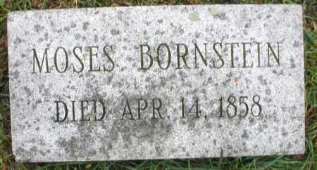 BORNSTEIN, MOSES - Montgomery County, Ohio | MOSES BORNSTEIN - Ohio Gravestone Photos