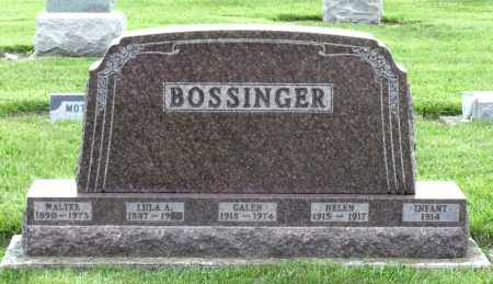 BOSSINGER, INFANT - Montgomery County, Ohio | INFANT BOSSINGER - Ohio Gravestone Photos