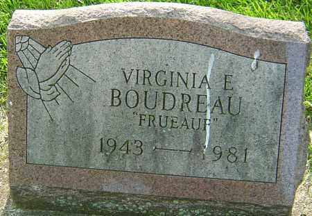 FRUEAUF BOUDREAU, VIRGINIA E - Montgomery County, Ohio | VIRGINIA E FRUEAUF BOUDREAU - Ohio Gravestone Photos