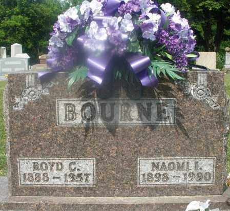 BOURNE, NAOMI I. - Montgomery County, Ohio | NAOMI I. BOURNE - Ohio Gravestone Photos