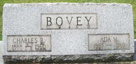 BOVEY, CHARLES R. - Montgomery County, Ohio | CHARLES R. BOVEY - Ohio Gravestone Photos